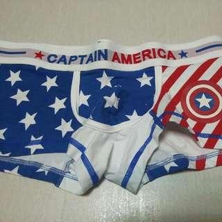 全新美國隊長男性內褲(含運)