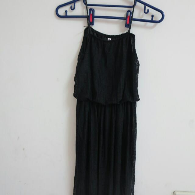 蕾絲細肩☑氣質長裙