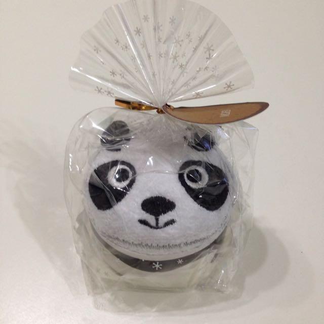 熊貓造型小毛巾