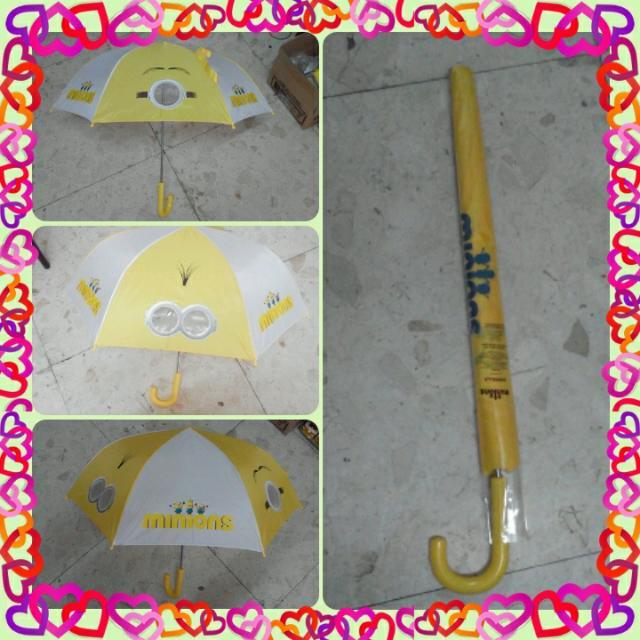 小小兵  限量雨傘 全新-只有一支ㄛ 蛋黃色