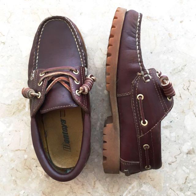 二手 montoya 雷根鞋(保留中)