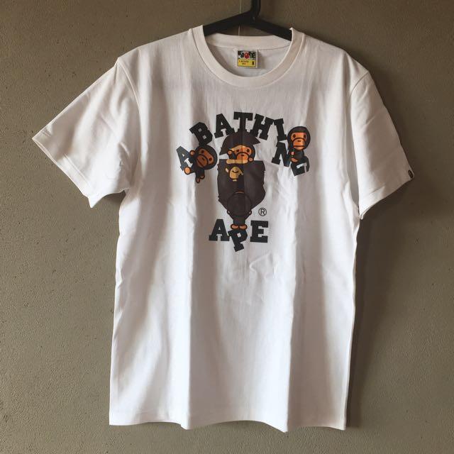 Bape 白T-Shirt 日本購入