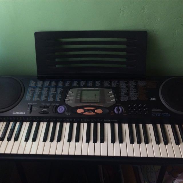 Casio 卡西歐電子琴 CTK-531