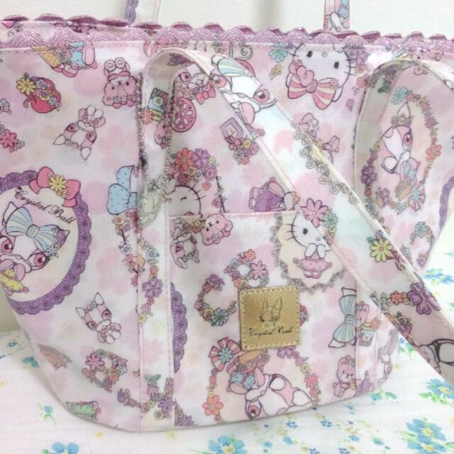 Crystal Ball X Hello Kitty 手提包 30afc9f16ac24