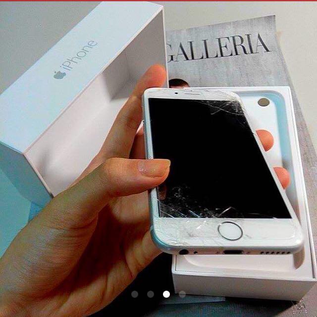 Iphone6 銀色16G賣手機!