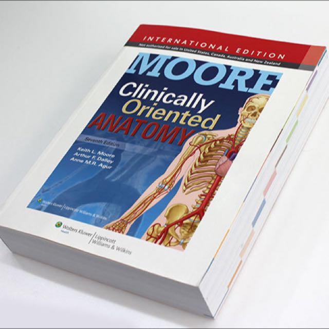 Moore\'s Clinically Oriented Anatomy Seventh Edition, Books ...