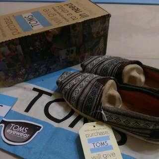 【少撞款】TOMS 圖騰便鞋 全新
