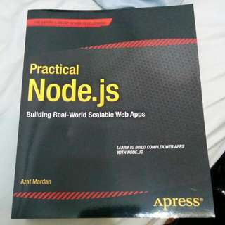 Practical Node.js Building Real World Scalable Web Apps