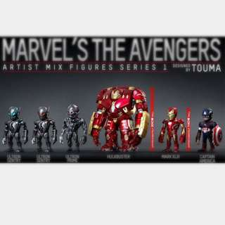 The Avengers by Hot Toys design by Touma