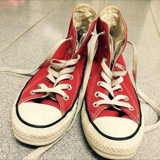 正版converse 鞋24號