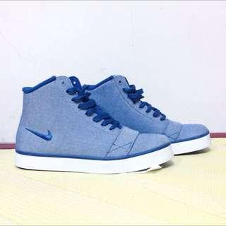 (含運)Nike藍色高筒鞋 #含運最划算