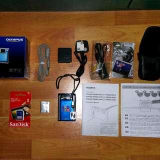 Olympus uTough-6020 Waterproof/Shockproof Camera (Price Revised)