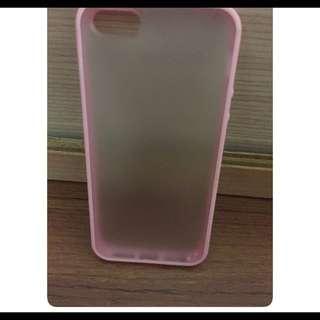 Iphone5&5s粉色手機殼