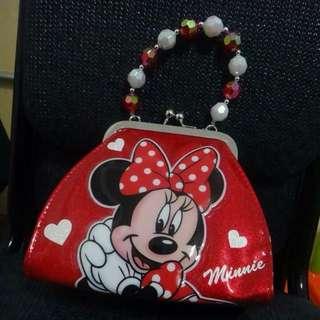 香港迪士尼購入米妮復古手提包