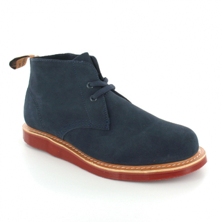 Dr Marten's Blue Desert Boots
