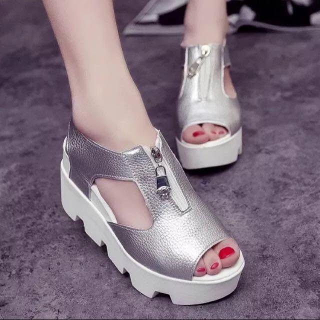 9成新✨韓版厚底鞋