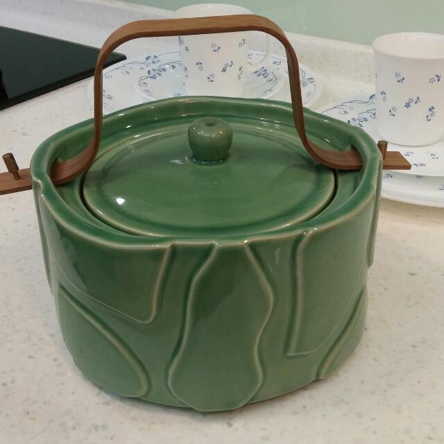 瓷器食器(可裝佛跳牆及湯品)