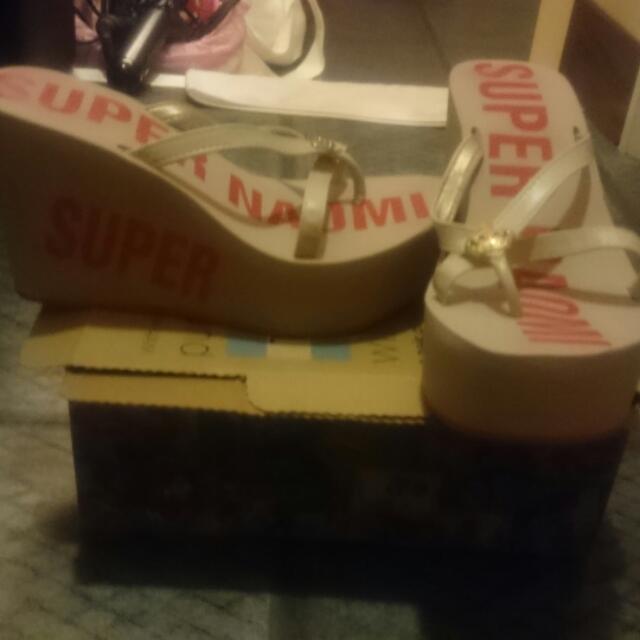 厚底契型涼鞋