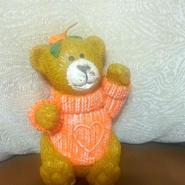 泰迪熊造型蠟燭