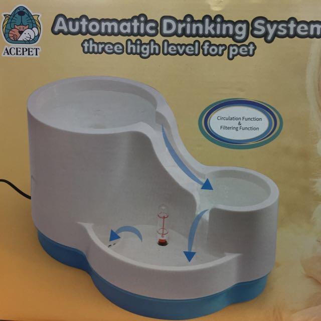 免運費 ACEPET 寵物活水機 噴泉式 三段高度 $800