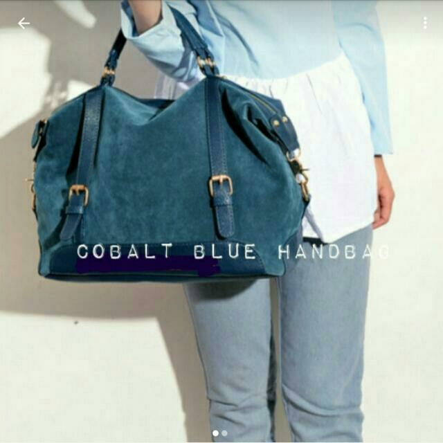 Cobalt Blue Handbag