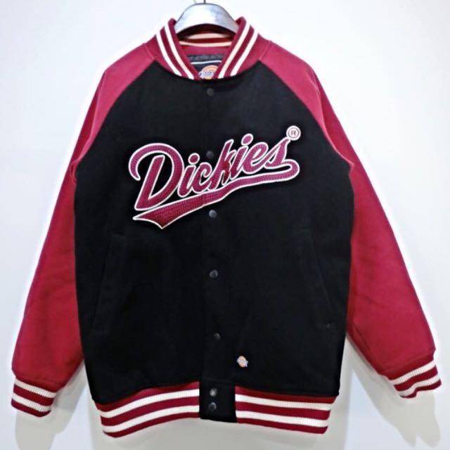 Dickies 毛呢棒球外套
