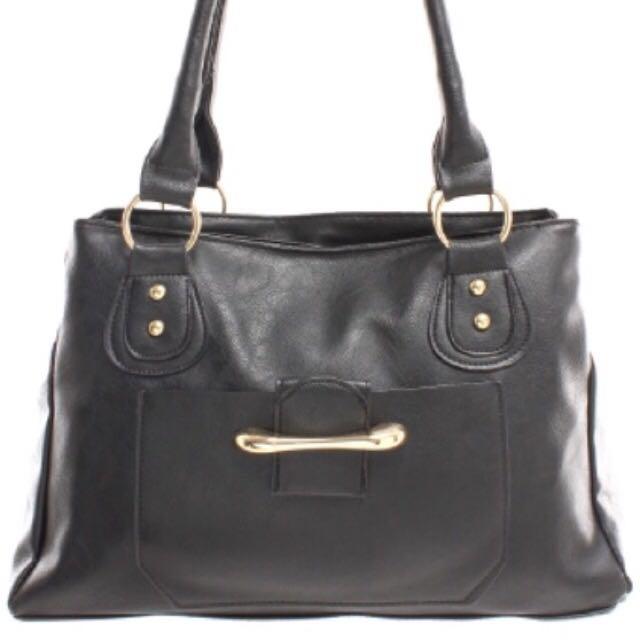 Faux Leather Handbag (PreOrder)
