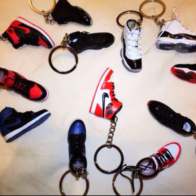 Jordan 立體鑰匙圈