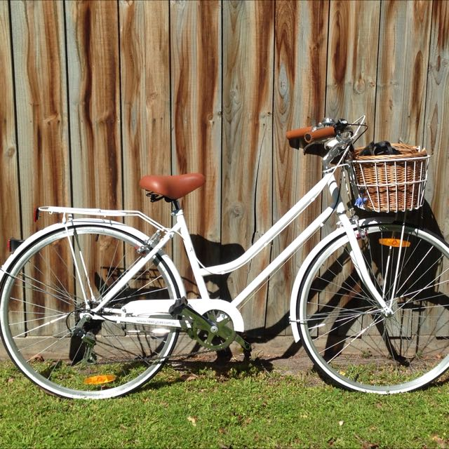 Ladies Vintage Bike with basket