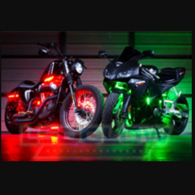smd ledglow lighting lights led for gallery purple pod motorcycles