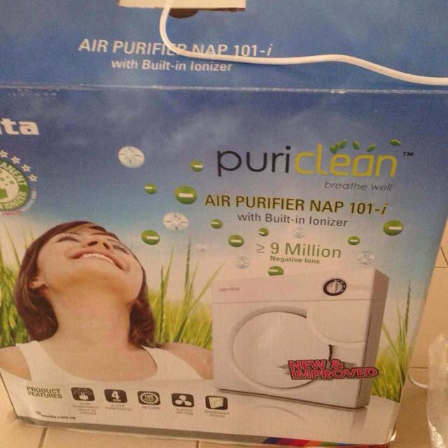 novita air purifier nap 101-i