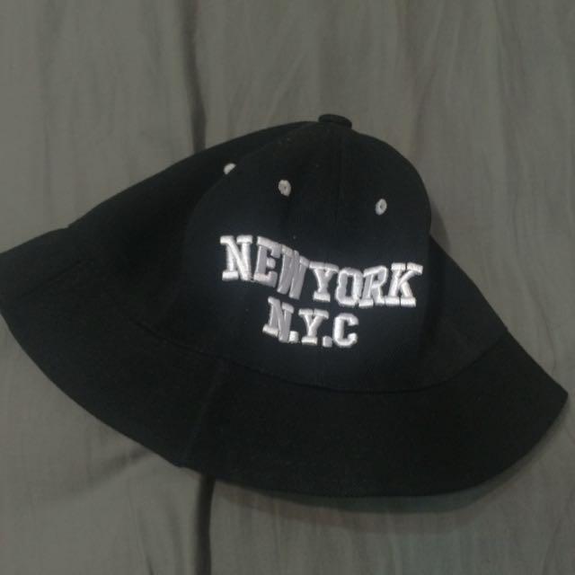 Nyc黑色漁夫帽