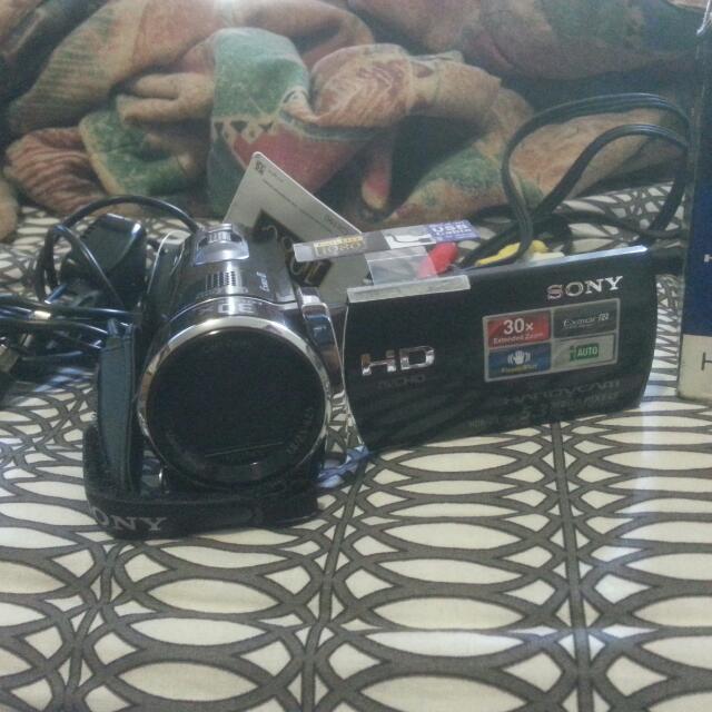 Sony HDR - CX190 Handycam