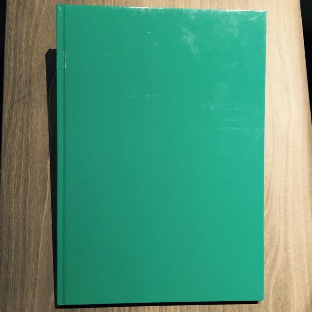 Tiffany綠筆記本
