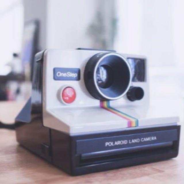 Vintage One-Step Polaroid SX-70