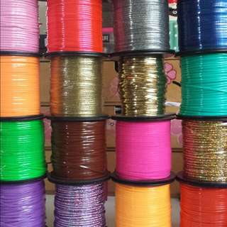 Plastic craft lace