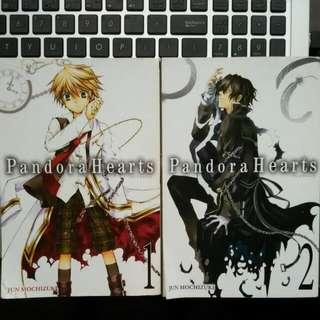 [ON HOLD] Pandora Hearts (English)  Vol 1, 2