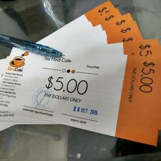 The Mind Cafe Vouchers $50