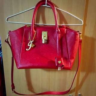 🇯🇵Samantha Thavasa 紅色鎖頭包