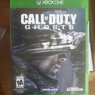 XBOX ONE: CALL OF DUTY GHOST/BATTLEFIELD 4