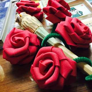 手作玫瑰花