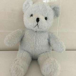 【玩偶】水藍熊熊布娃娃