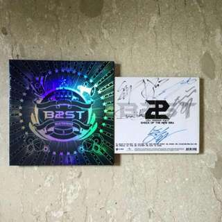 BEAST FREE ALBUM+HANDSIGNED ALBUMS