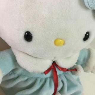 【玩偶】Hello Kitty 水藍洋裝凱蒂貓布娃娃