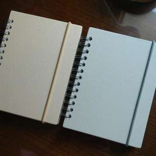 無印良品A6線圈筆記本