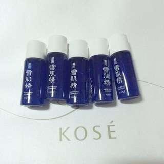 高絲 Kose 藥用雪肌精 13ml 小樣