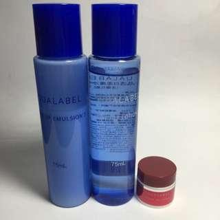 AQUALABEL水之印 晶透白柔組+3D高保濕彈力霜