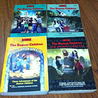 The Boxcar Children Assorted Books