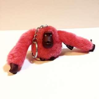 全新 正品 Kipling 猩猩 猴子 鑰匙圈 吊飾