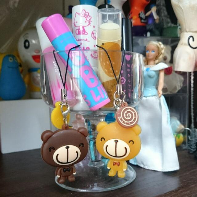 熊熊吊飾(2入)